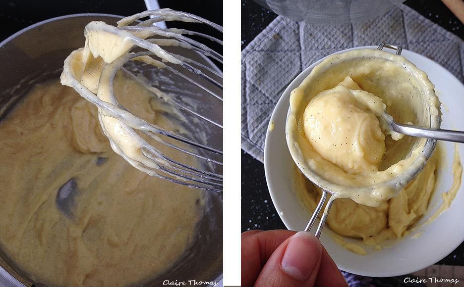 eclair cream
