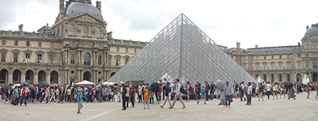louvre long line
