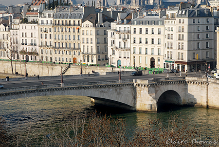 Paris Seine view