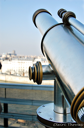 Paris view telescope