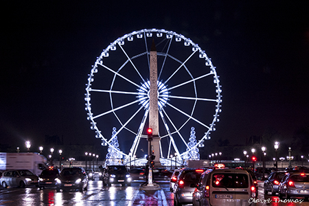 Paris ferris wheel