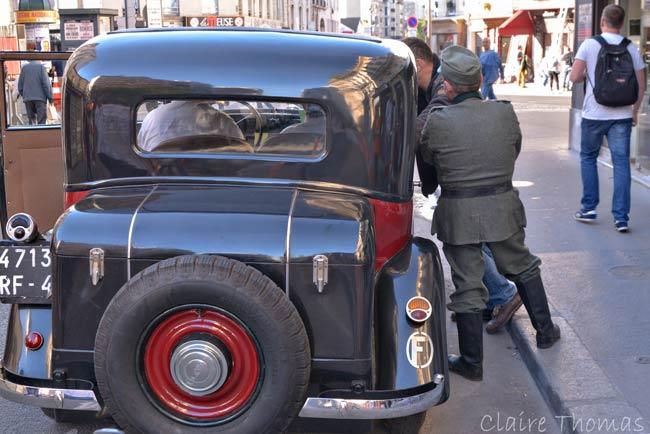 Paris Film set gestapo
