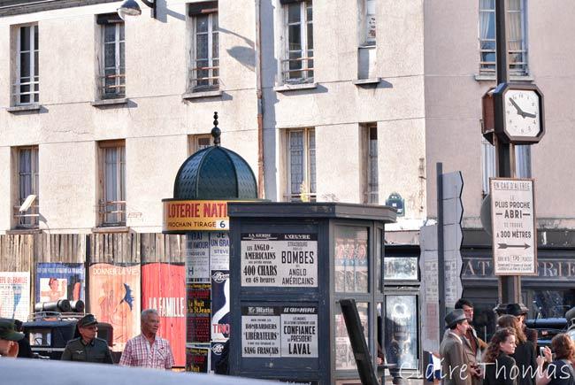 Paris Film set sign