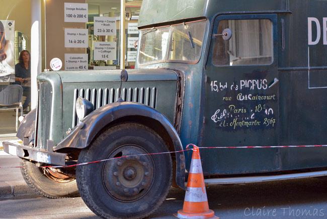 Paris Film set truck