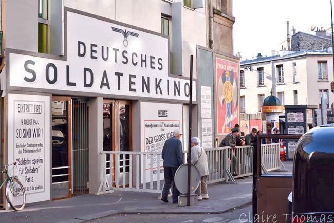 Paris Film set WW2