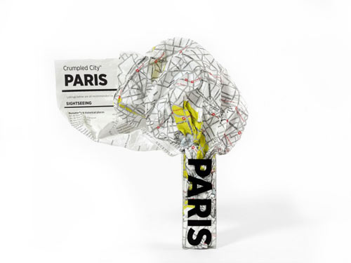 Paris crumple map