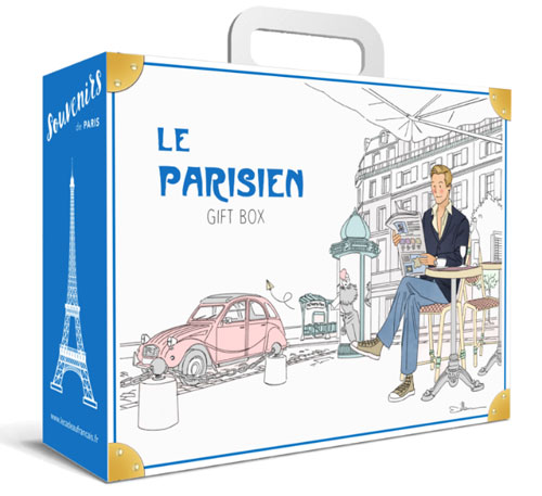 Parisian gift box