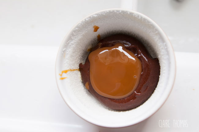 Chocolate caramel raw