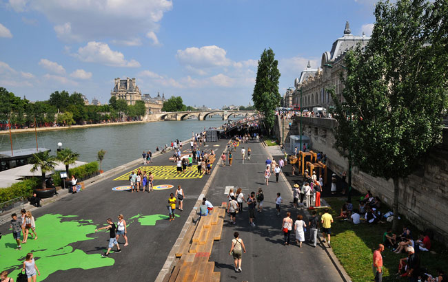 Riverwalk Paris