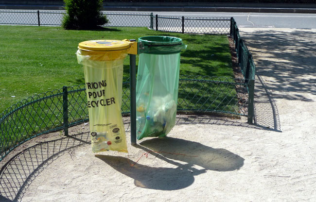 Public recycling