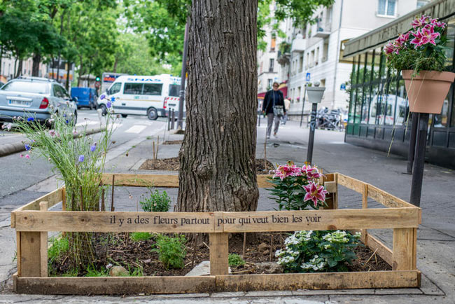 Urban garden Paris