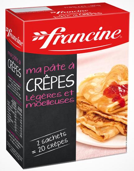 Francine crepe flour