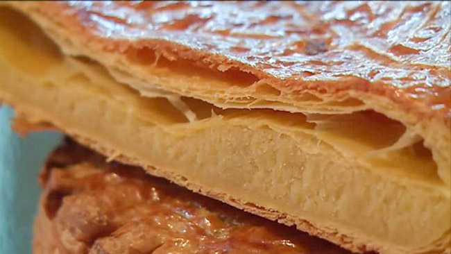 galette des rois close up