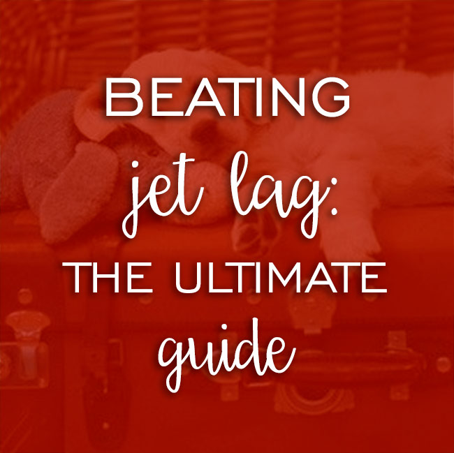 beat jet lag