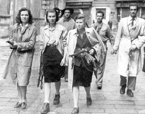 French Resistance fighters